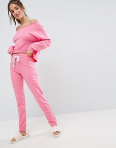 Джоггеры ASOS LOUNGE - Розовый