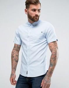 Оксфордская саржевая рубашка с короткими рукавами Tokyo Laundry - Синий