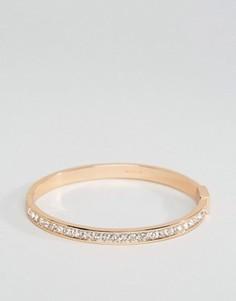 Браслет-манжета с камнями Pilgrim - Золотой