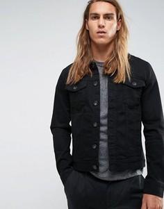 Джинсовая куртка Selected Homme - Черный