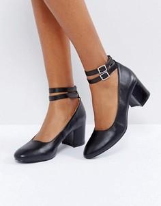 Туфли на среднем каблуке London Rebel - Черный