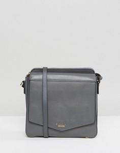 Большая сумка через плечо Fiorelli - Серый