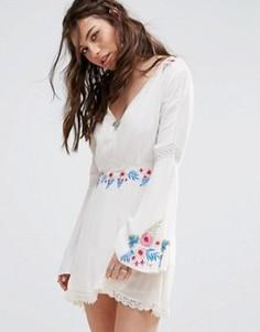 Платье RahiCali Tropics Leah - Белый