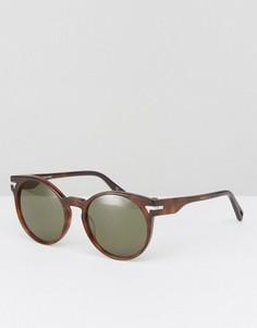 Круглые солнцезащитные очки G-Star - Коричневый
