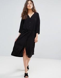 Длинная блузка-кимоно Only Studio Ace - Черный