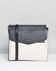 Большая сумка через плечо Fiorelli Mia - Кремовый