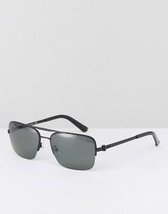 Солнцезащитные очки в квадратной оправе CK Collection - Черный Calvin Klein
