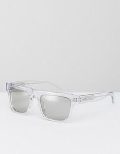Солнцезащитные очки-маска Calvin Klein - Прозрачный