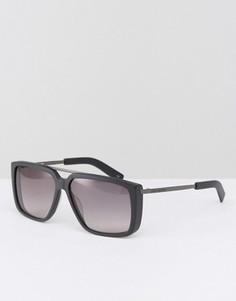 Солнцезащитные очки в квадратной оправе Karl Lagerfeld - Черный