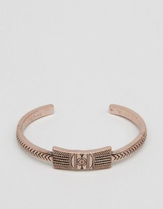 Медный полированный браслет в ацтекском стиле Classics 77 - Медный