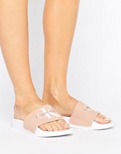 Розоватые шлепанцы для бассейна Calvin Klein Jeans Chantal - Розовый