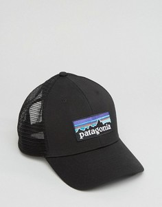Черная бейсболка с логотипом Patagonia - Черный