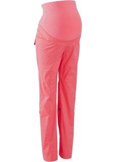 Для будущих мам: брюки с отворотами (нежный ярко-розовый) Bonprix