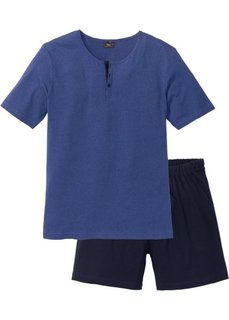 Пижама с шортами (синий) Bonprix
