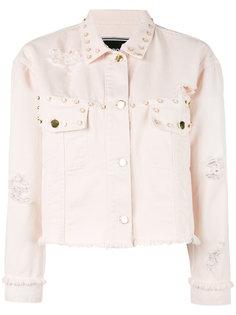 джинсовая куртка с заклепками Marco Bologna