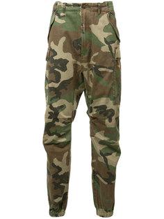 укороченные камуфляжные брюки R13