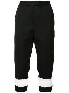 укороченные брюки прямого кроя Haider Ackermann