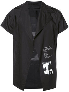 рубашка с принтом сзади Julius