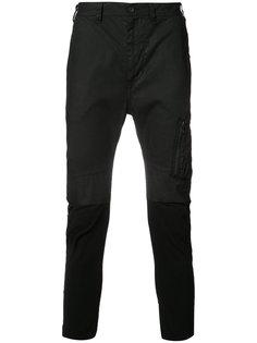 укороченные брюки с карманами на молнии Julius