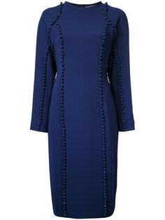 платье с аппликацией Donnah Mabel