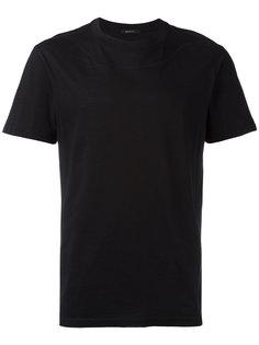 футболка с декоративной строчкой Qasimi