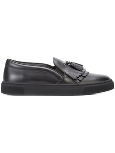 fringed slip-on sneakers  Louis Leeman