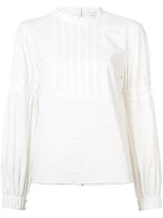 pleated trim blouse Tibi