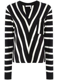 полосатый свитер Chloé