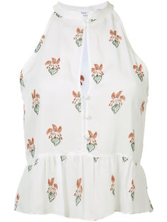 блузка с расклешенным подолом A.L.C.