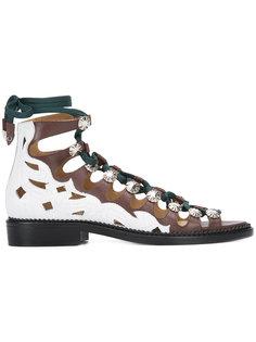 сандалии на шнуровке Toga Pulla