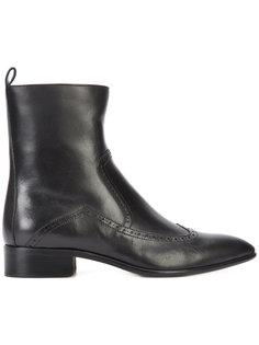 ботинки с элементом брог Maison Margiela