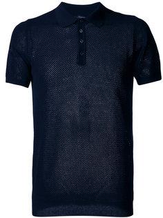 сетчатая футболка-поло Roberto Collina