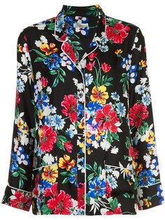 пижамная рубашка с цветочным принтом Piamita