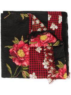 шарф с цветочным принтом Simone Rocha