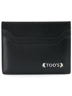 визитница с логотипом Tods Tod`S