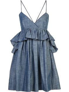 платье Alessandra с баской Piamita