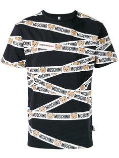 logo print T-shirt Moschino Underwear
