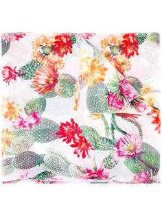 шарф с цветочным принтом Blugirl