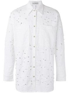 джинсовая куртка с отделкой  Faith Connexion