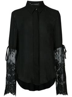 блузка с кружевными рукавами Sally Lapointe