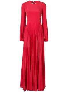 плиссированное вечернее платье Nº21