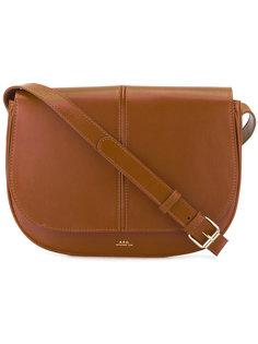 полукруглая сумка A.P.C.