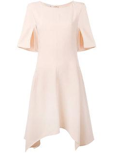 платье с асимметричным расклешенным подолом Stella McCartney
