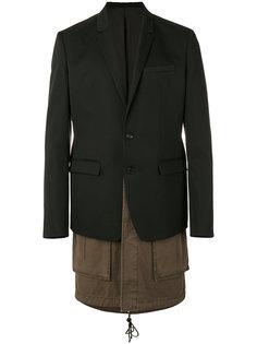 многослойный пиджак Juun.J
