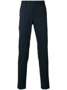 брюки слим Incotex