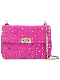 стеганая сумка с заклепками Valentino