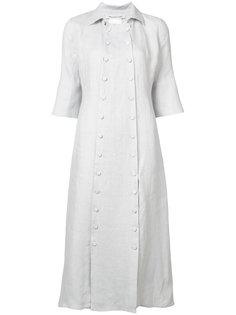 платье на пуговицах с короткими рукавами Cherevichkiotvichki