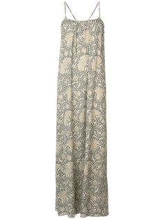 платье-макси с принтом Vince
