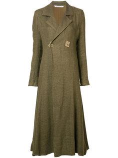 расклешенное пальто с эффектом поношенности Cherevichkiotvichki