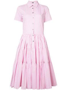 платье-рубашка в полоску Jourden